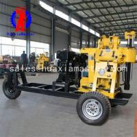 China XYX-130 wheeled hydraulic core drilling rig on sale