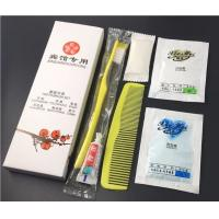 China Color / Size Customized Toothbrush Toothpaste Travel Kit Six - In - One Handmade on sale