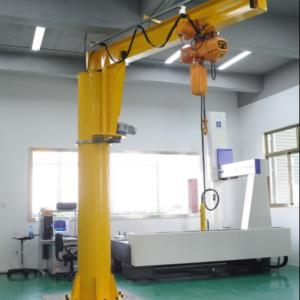 Quality Light Type 2T Freestanding Jib Cranes for Workshop for sale