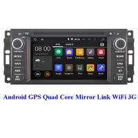 Quality 2008+ OBD Chrysler DVD Player 3G WiFi Chrysler Town And Country Navigation System for sale