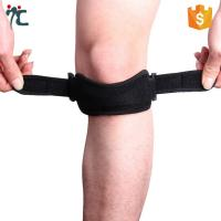 Quality adjustable open patella tendon knee support strap brace belt knee band for sale