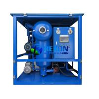 Quality Transformer Oil Purifier with Double Stage Vacuum System ( Vacuum Pump + Roots Pump) for sale