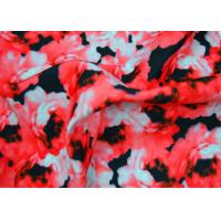 China 100 Polyester Fabric / Plain Polyester Fabric With Heat Transfer Printing on sale