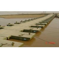 Quality Reusable Floating Pontoon Bridge / Army Pontoon Bridge With Heavy Loading Capacity for sale