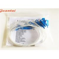 Quality Mini Tube TV Fiber Optic Cable Splitter Low Inseration Loss G657A Cable Mode for sale