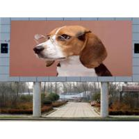 Quality Large advertising performance P12 outdoor led display boards programming , DIP346 for sale