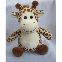 Quality Sitting Pose Lovely Giraffe Plush Toys for sale