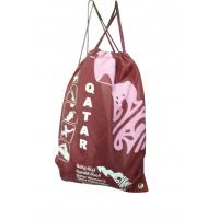 Quality 400D full color printing strap string drawing nylon storage bags for sale