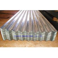 Quality Cold Rolled Galvanized Corrugated Steel Roof Sheets SGCC, DX51D, DX52D, JIS3310 for sale