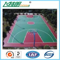 Quality Silicon PU Sports Flooring Polyurethane Floor Paint Outdoor Basketball Court Paint for sale