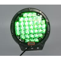 Best Green 185W Round LED Work Light 12V Fog Driving Roof Bar Bumper Off-road for Truck Car ATV SUV Jeep wholesale