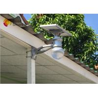 China Energy Saving Solar LED Wall Light Outdoor Motion Sensor With Bridgelux LED Chip on sale