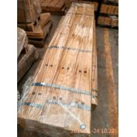 Quality JCB blades JCB flat cutting edges , JCB single beveled cutting edges with high Mn material for JCB Loader for sale