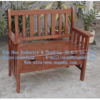 Quality Wooden Raven Storage Bench、Wooden chair, wooden outdoor chairs, wooden double chair for sale