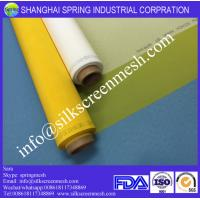 Best Screen Printing on 100% Polyester Mesh/120T Yellow or White/Bolting Cloth wholesale