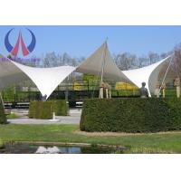 Quality Anti - Hurricane PVC Tensile Membrane Roofing Temporary Building Structures Environmental for sale