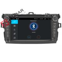 Quality 4G Toyota Corolla Car Gps Navigation System Dvd Player With TPMS OBD Function for sale