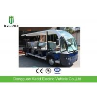 China 5kW 11 Passenger Electric Sightseeing Car With Foldable Rain Shade / Superior Suspension System on sale