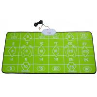Quality 32 Bit TV PC USB Game Interactive Dance Mat Green For 2 Players for sale