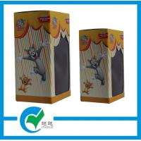 Quality OEM  Tom and Jerry Toy Cardboard Packaging Boxes with PET Window for sale