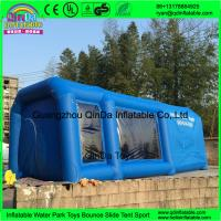 China QinDa inflatable paint booth,inflatable spray booth,inflatable car spray/paint tent for sale on sale