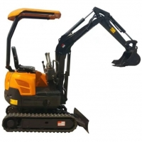 Quality hydraulic pump excavator 1.8 ton Electric Digger China Mini Excavator With Digger Excavator Machines For Sale for sale