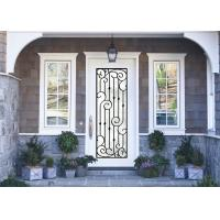 Quality Antiseptic Custom Wrought Iron Doors With Glass Inspiration Craftsmanship for sale