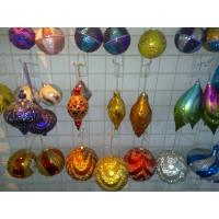 China Personalised Christmas Decoration of Colorful Tinsel Sparkling Balls Ornaments on sale
