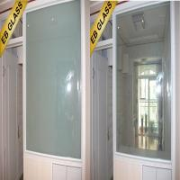 Quality laminated Pdlc switchable glass, building window electric glass EB GLASS BRAND for sale