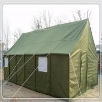 Quality Waterproof Polyster Military Army Tent Heavy Duty 2 - 40 Person With Steel Frame for sale