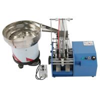 Quality Bulk Resistor Lead Forming Machine , Automatic Feeding And Forming Resistor Legs for sale