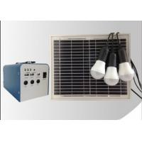 Best Solar energy system mini solar power generatio system for home lighting 10W wholesale