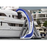 Quality Commercial Grade Inflatable Water Slide ,  Inflatable Yacht Ship Slide For Water Sport for sale