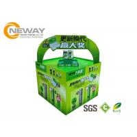 Best Light Duty Paper Cardboard Pop Up Display Stands / Pop Cardboard Point Of Purchase Displays wholesale