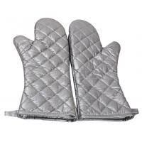 Quality Safety Heat Proof Oven Mitts , Kitchen Oven Gloves Flexibility Extra Long for sale