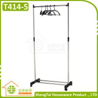 Best Factory Price Good Quality Portable Single Side Stand Cloth Display Rack wholesale