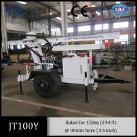 Best Jt100y All-Hydraulic Portable Small Drilling Rig for small shallow water well drilling wholesale