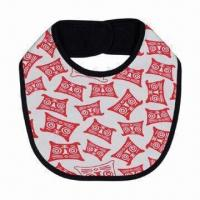 Best Water-resistant baby bib, available in different designs and sizes wholesale