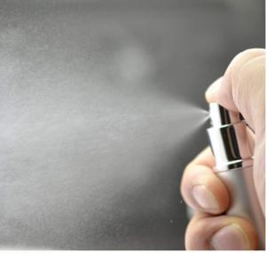 Quality 5ml Mini Travel Pocket Refillable Aluminum Empty Atomizer Spray for sale