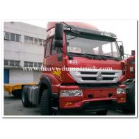 China SINOTRUCK Golden Prince 4x2 tractors truck / prime mover for pulling Container trailer chassis on sale