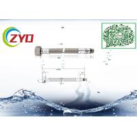 China Home Kitchen Faucet Supply Lines, Good Seal Flexible Stainless Steel Braided Hose on sale