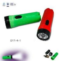 Quality Plastic LED Shinny Flashlight Electric Torch (D17-4-1) for sale
