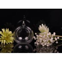 Best Borosilicate Glass Hanging Tealight Candle Holders ASTM Passed wholesale