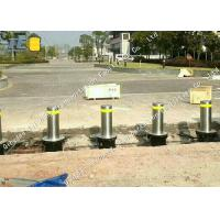 China High Security Automatic Rising Bollards , 5mm Thickness Smart Bollards on sale