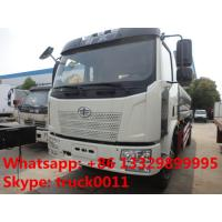 Buy cheap hot sale FAW brand 10,000L stainles steel food grade milk tank truck, China from wholesalers