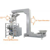 Quality Automatic Granule Packing Machine With Volumetric Filler For Beans , Rice , Seeds for sale