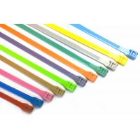 Quality Durable heat - resisting Double Locking nylon cable ties UL ROHS with nylon66 for sale