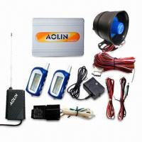 China Two-way Remote Start Car Alarm System with Remote Trunk Release and LED Memory on sale