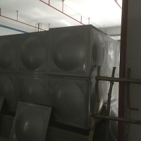 China SS304 Sectional Modular 5000M3 3mm Panel Welded Water Tank for sale