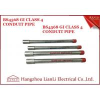 Buy cheap Class 4 25mm GI Conduit Class 4 Galvanised Electrical Conduit For Project from wholesalers